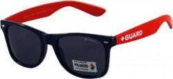 Guard - Cankurtaran Güneş Gözlüğü RayBan Siyah Kırmızı