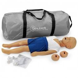 Simulaids/Nasco - Simulaids Tam Boy Çocuk CPR Mankeni