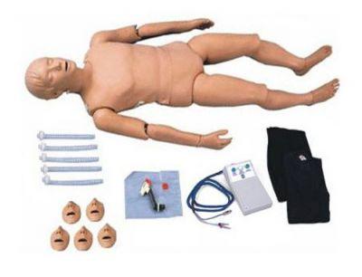 Simulaids Göstergeli Tam Boy Travma ve Temel Yaşam (CPR) Eğitim Mankeni