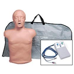 Simulaids Dijital Göstergeli Yarım Boy Yetişkin CPR Mankeni